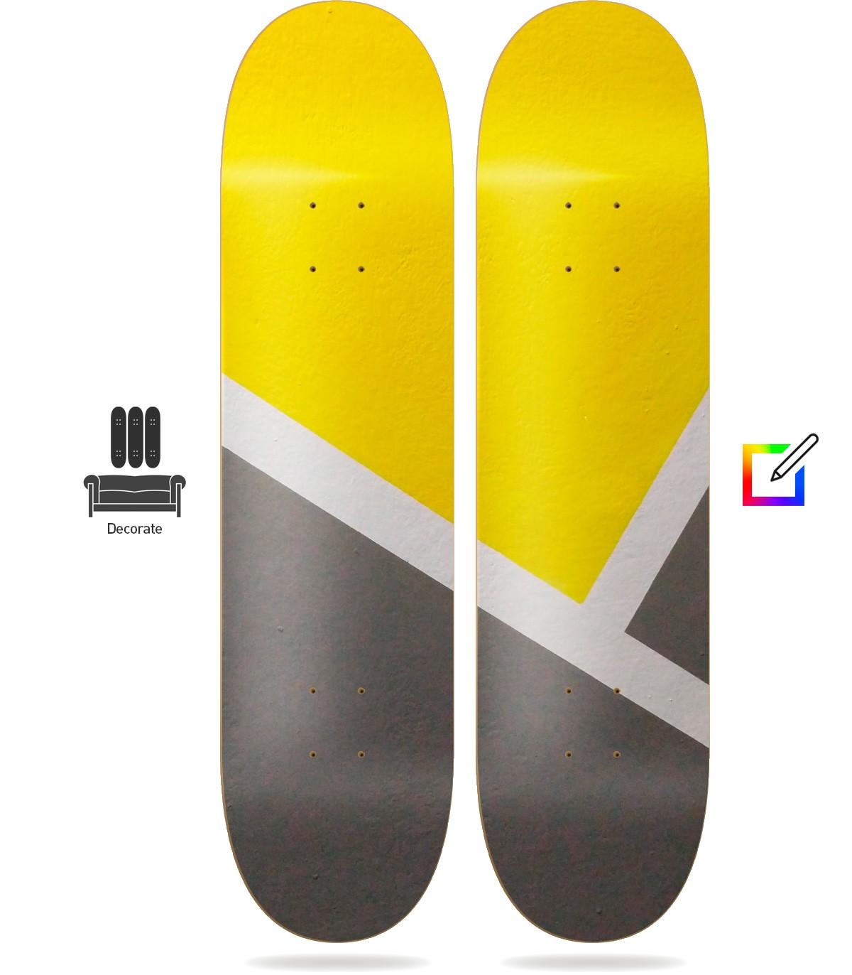 Murale 2 Planches Skate personnalisées