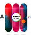 Murale 3 Planches Skate personnalisées