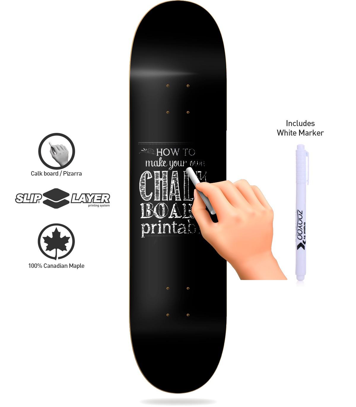 Chalkboard Skate