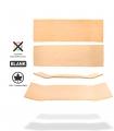 Raw Uncut Skateboard Blank Deck