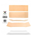 Rohes unbeschnittenes Skateboard Blank Deck
