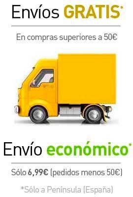 Envío gratuito a partir de 150€ (Sólo Península España)