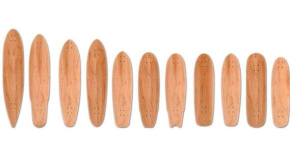 Fabricación de tablas de skate, longboard y cruiser