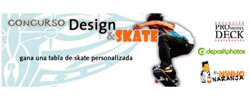 Concurso Diseño en tabla de skate