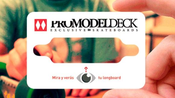 Tarjeta cliente para skaters PRO MODEL DECK