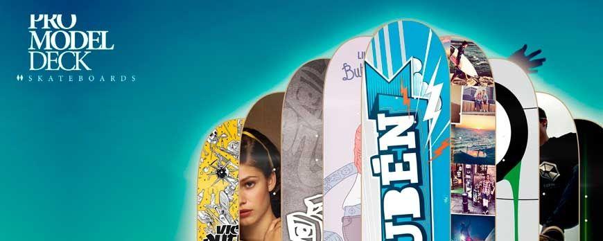 Tienda skateboard online de impresión Digital HD