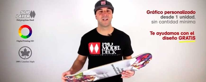 Printing skateboards longboard and cruiser