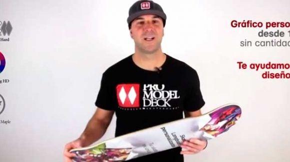 Impresión de tablas de skate longboard y cruiser