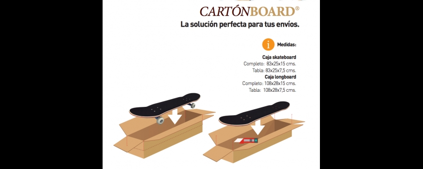 Cajas para skateboard y longboard en PRO MODEL DECK