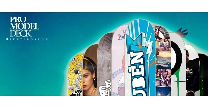 Loja de skate on-line com impressão digital HD