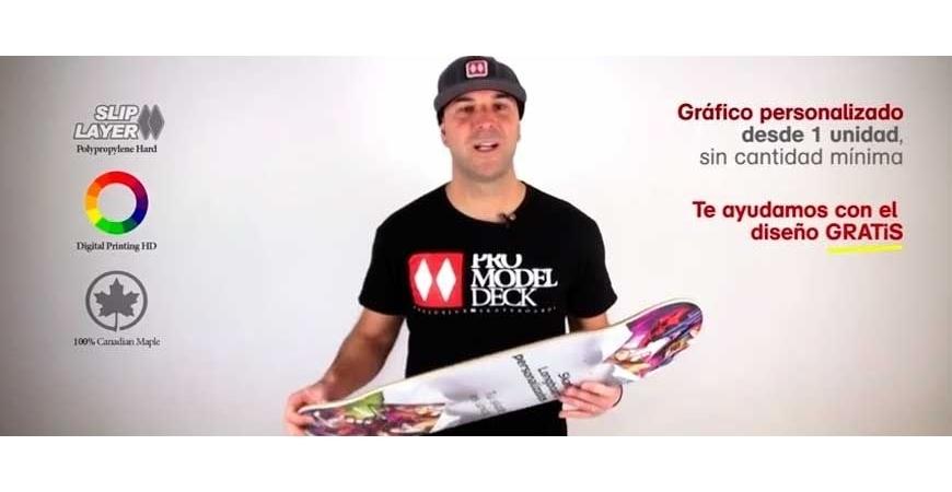 Impressão de skate longboard e cruiser