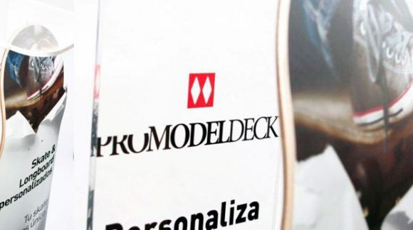 Expositor para tablas de skate PRO MODEL DECK