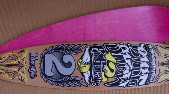 Entrega de premios Mulafest 2012 - Trofeos de tabla longboard realizados por PRO MODEL DECK