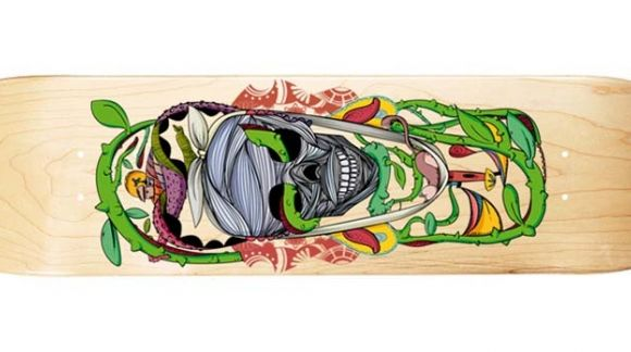 "II Contest ""Design to skate deck"""