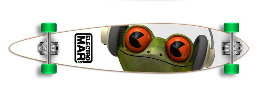 Skateboard Longboards and for promotions and advertising