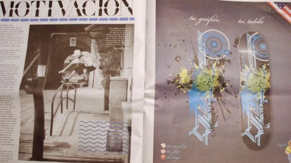 Anuncio en revista GO Magazine