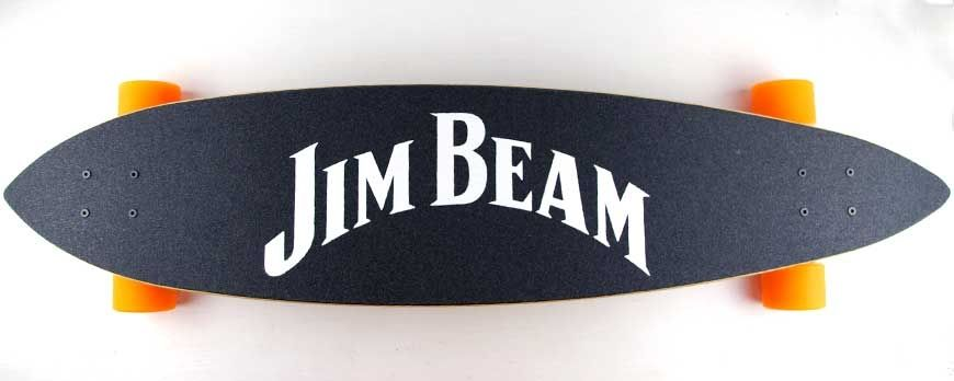 Longboards for Jim Beam by advertising agency