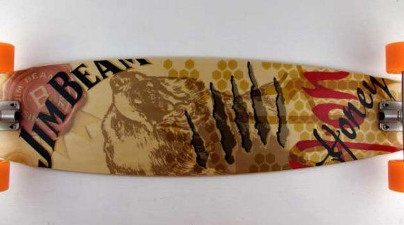 Longboards para Jim Beam mediante agencia de publicidad