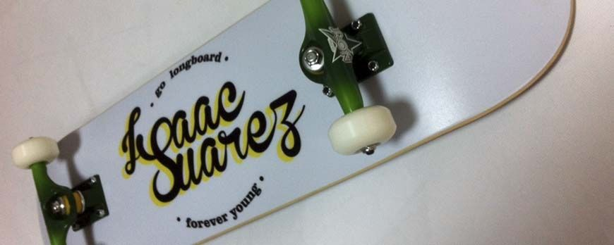 Print skateboards or longboard