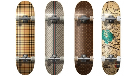 Skateboards decks, longboard and cruiser limited edition