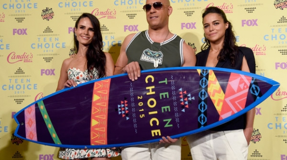 Teen Choice Awards 2015. Tablas de Surf de trofeo