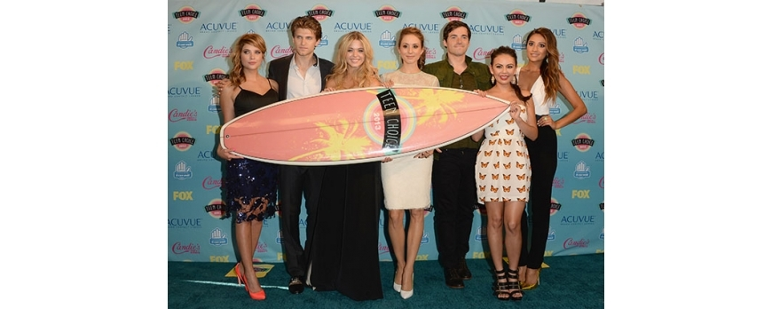 2015 Teen Choice Awards trophy Surfboards