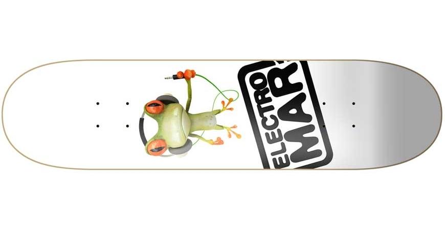 Skate e longboards para promoções e publicidade