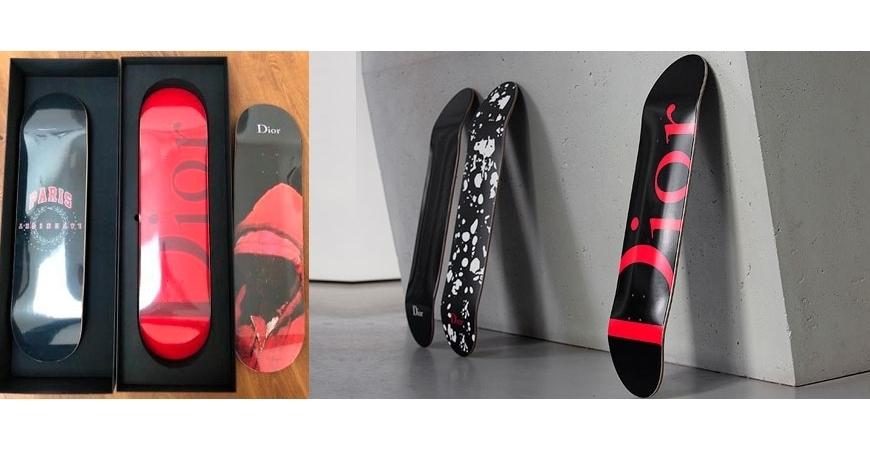 Skates! Edição limitada - Christian Dior