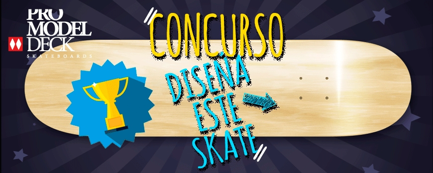 "Concours ""Design Your Skateboard 2017"" par Pro Model Deck Skateboard"