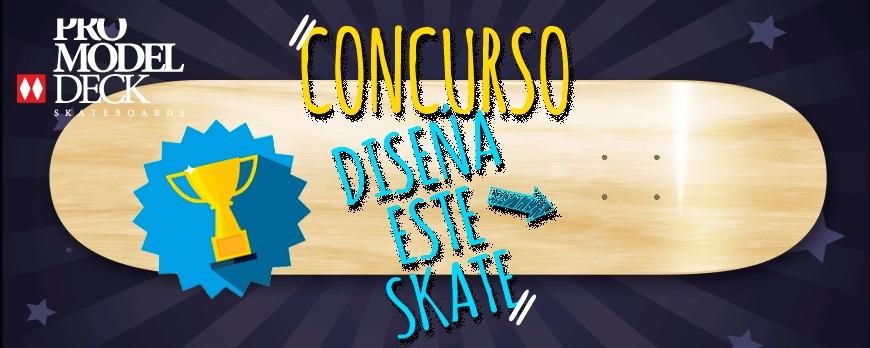 III Concurso Diseña tu tabla de skate 2017