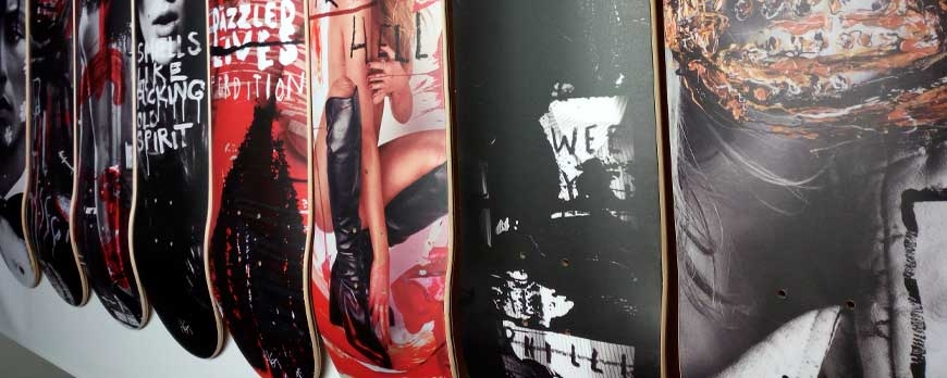 Hunter & Gatti Collectors Edition Skateboards