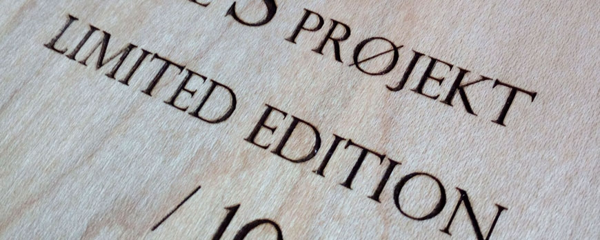The S Projekt - Tablas skate serie limitada
