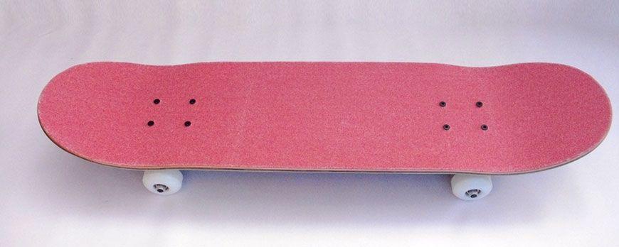 Lija personalizada para skateboards