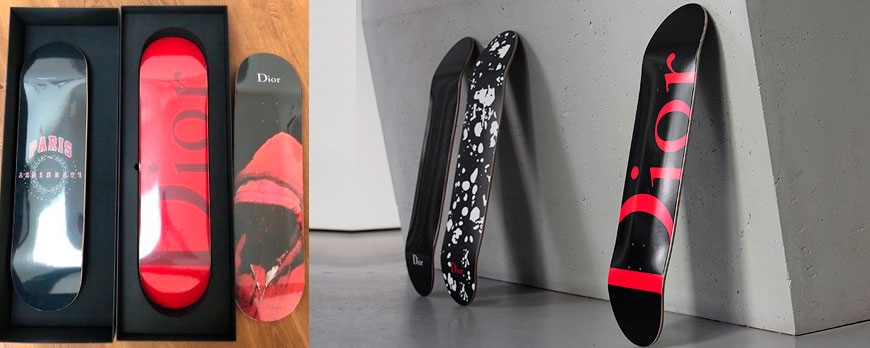 Skateboards! Limited edition - Christian Dior